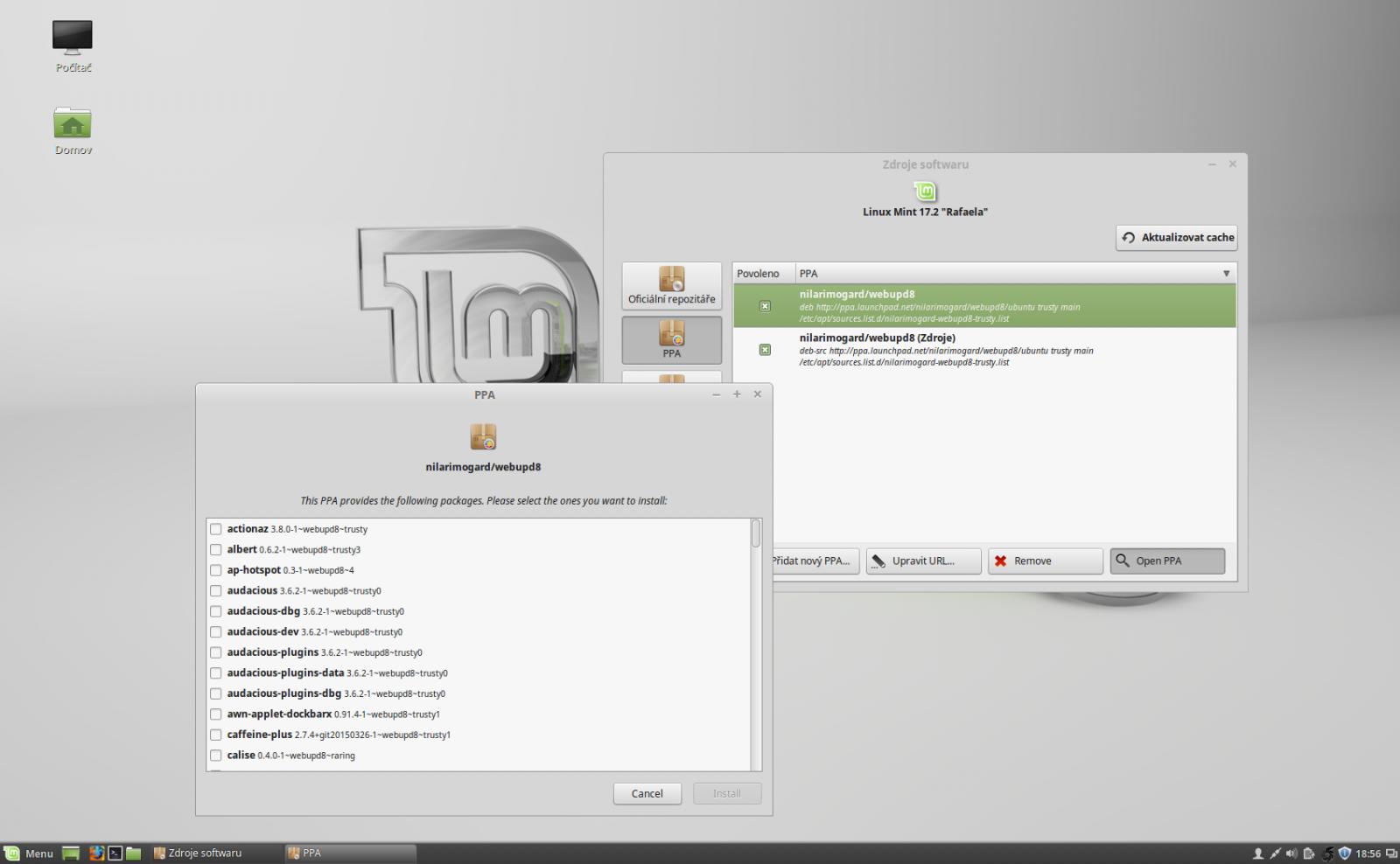 Linux Mint 17.2Rafaela