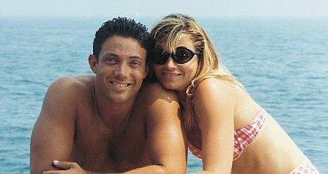 Skutečný Jordan Belfort s ex-manželkou Nadine Caridi-Belfort