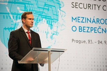 Ředitel NÚKIBu Karel Řehka na The Prague 5G Security Conference