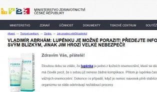 Vitalia.cz: Vypadá jako web ministerstva, ale je to chyták