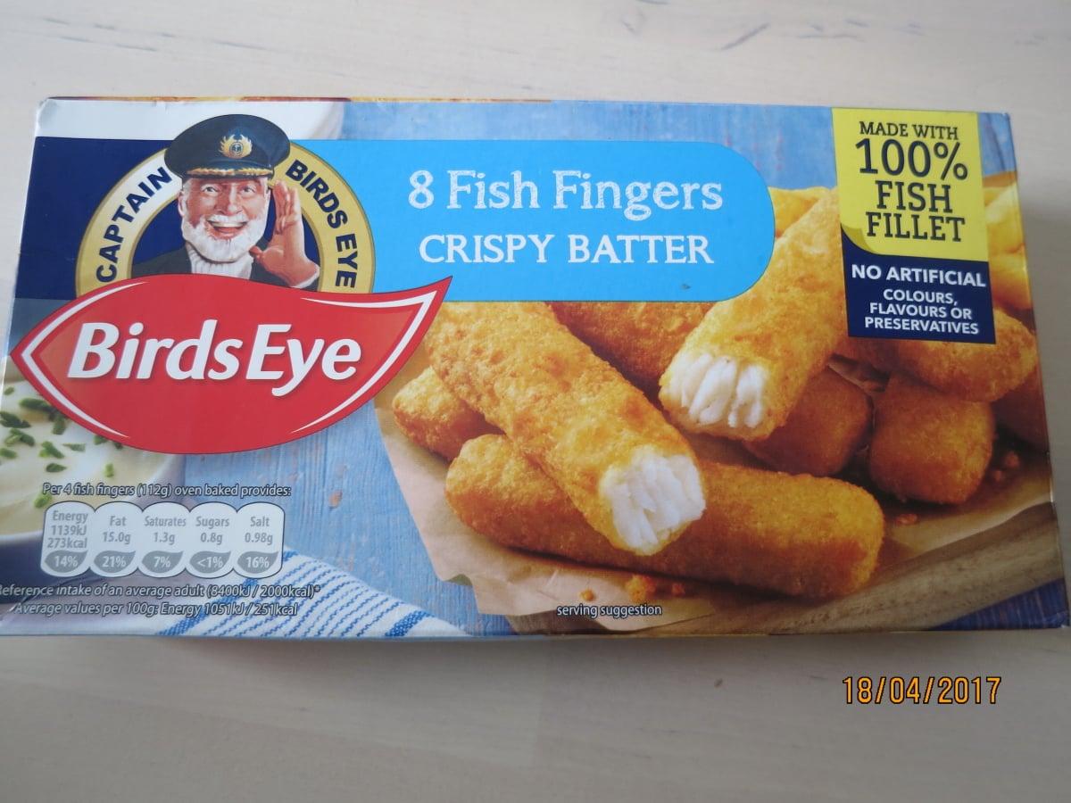 Falšované rybí prsty