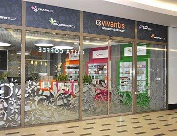 Pražská výdejna internetového prodejce Vivantis