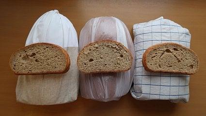 Vitalia.cz: Test: stejné chleby, různé obaly– kde vydrží nejdéle