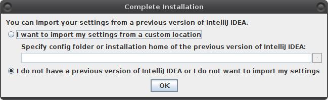 Instalace IntelliJ Idea