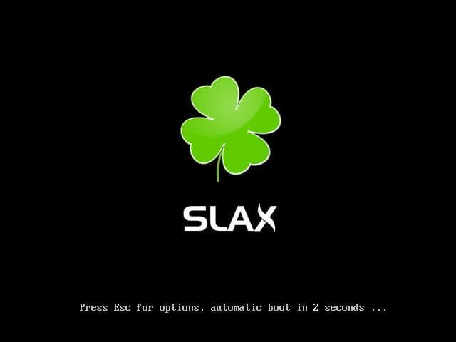 Nový Slax postavený na Debianu