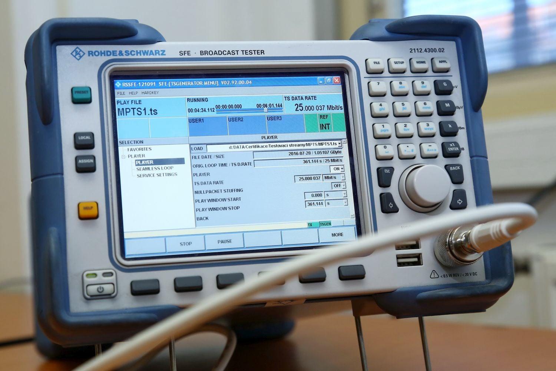 ČRa - testy na certifikaci DVB-T2 ověřeno