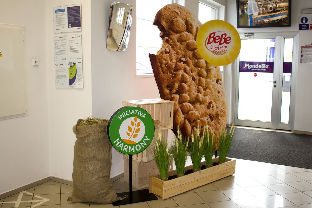 Výroba sušenek: Mondelēz International Lovosice