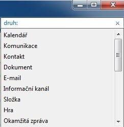 Možnosti filtru v Průzkumníku Windows