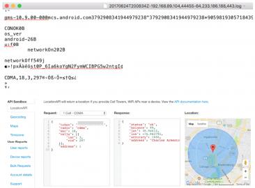 Quartz - Google Android a sběr CellID