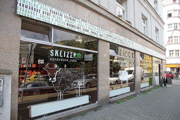 Farmářská prodejna Sklizeno, Praha Nusle