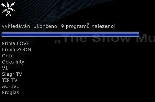Aktuální složení multiplexu 3 ze severočeského Ještědu.