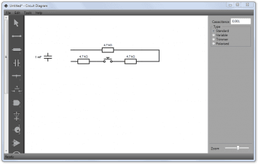 Snadný návrh elektrických obvodů s aplikací Circuit Diagram