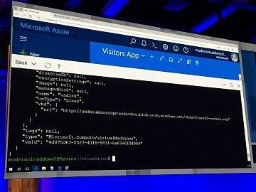 Bash ve webovém rozhraní Azure