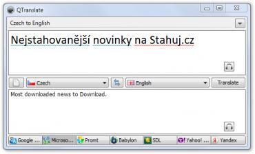 QTranslate - pohodlný a rychlý překlad díky klávesovým zkratkám