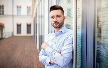 Juraj Felix, co-CEO mediálního domu Czech News Center
