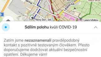 Lupa.cz: Mapy.cz: dejte nám polohu, varujeme vá před COVID-19
