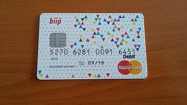 Platební karta biip.