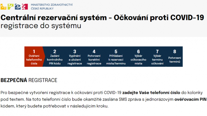 [aktualita] Rezervační systém pro očkování proti COVIDu odstartoval, měl problém s posíláním SMS [AKTUALIZOVÁNO]