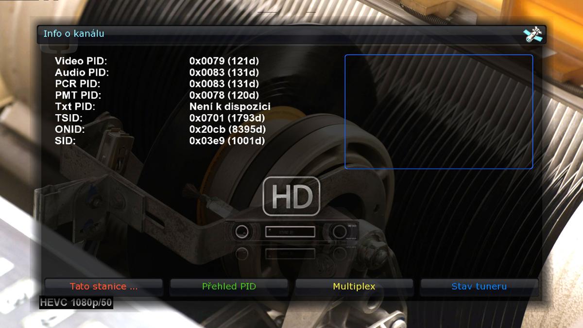 Ultra HD satelitní přijímač Vu+ Solo 4K