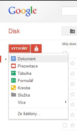 google docs - dokument