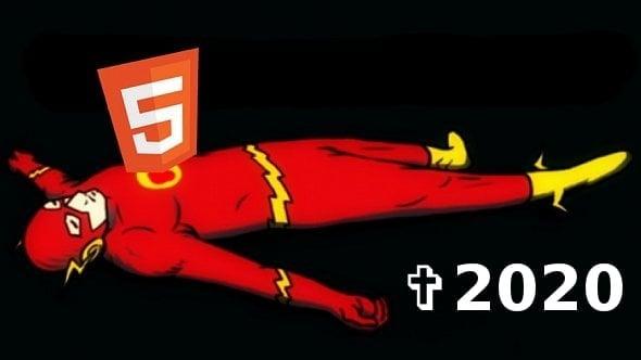 Flash definitivně skončí vroce 2020, dohodlo se Adobe sprohlížeči