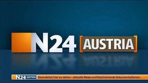 Zkušební vysílání rakouské verze německého zpravodajského kanálu N24
