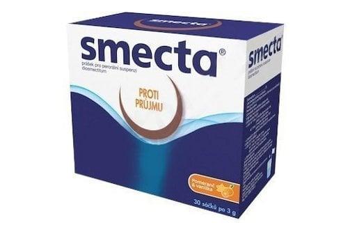 Smecta - lék proti průjmu