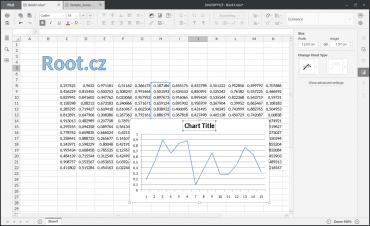 OnlyOffice: tabulkový procesor