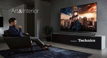 Panasonic a koncept Art & Interior použitý u všech nových televizorů OLED.
