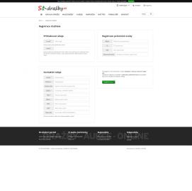 Původní logo webu s-dražby (2. 10. 2019)