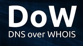 DNS over WHOIS
