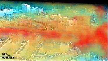 Model Prahy v rozšířené realitě (AR)