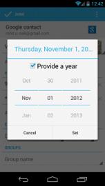Android 4.2 nemá prosinec