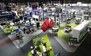 Huawei na CEBIT 2018
