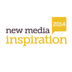 Logo New Media Inspiration 2014