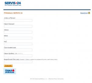 Phishing na klienty České spořitelny ze 7. dubna 2014