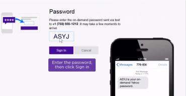 Jednorázové heslo na vyžádání