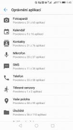 Android vám umí zobrazit, jaká data jste povolili aplikacím o vás získávat.