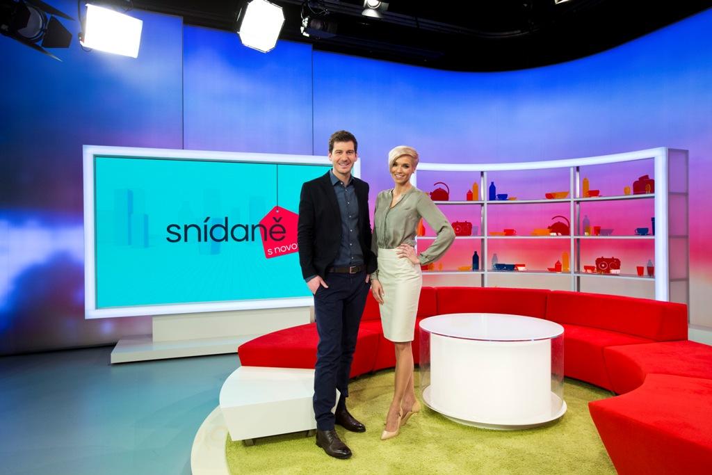 Studio Snídaně s Novou od 4. května 2015