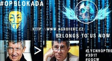 Útok Guardians of Cyber World na ANO, Agrofert a další.