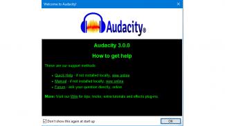 Audacity 3.0