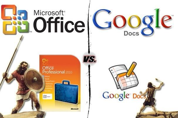 Google Docs vs. Microsoft Office