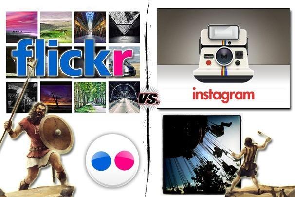 Instagram vs. Flickr