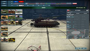 Wargame: AirLand Battle - obrázky ze hry.