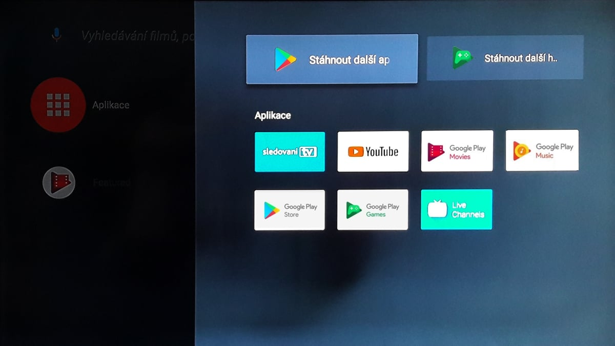 Box SledováníTV - aplikace