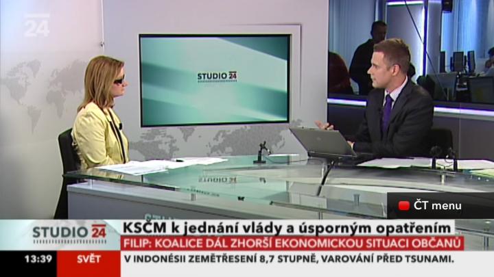 Česká televize nabízí hybridní vysílání HbbTV