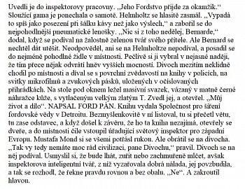 Originální překlad z českého vydání knihy.