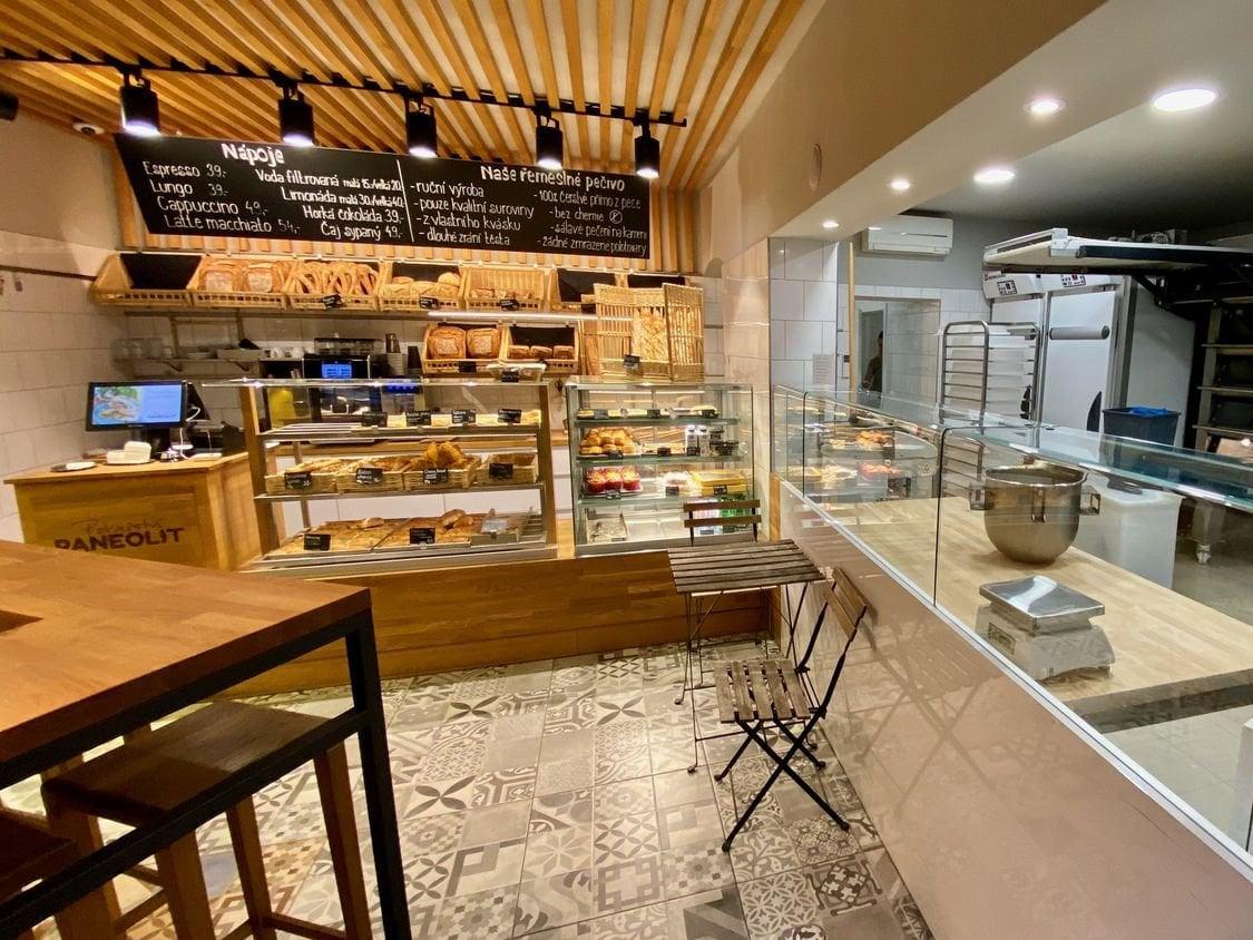 Koncept pekařství Paneolit