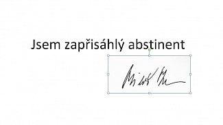 Lupa.cz: Měl premiér proč stahovat svůj podpis?