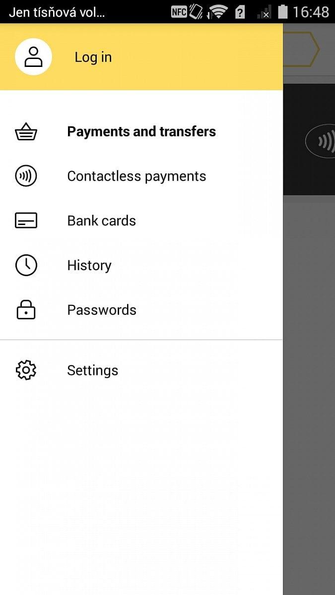 Yandex Money NFC